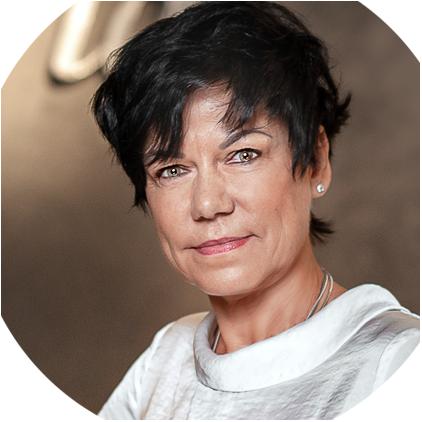 Birgit Michna von der Chiceria Cottbus